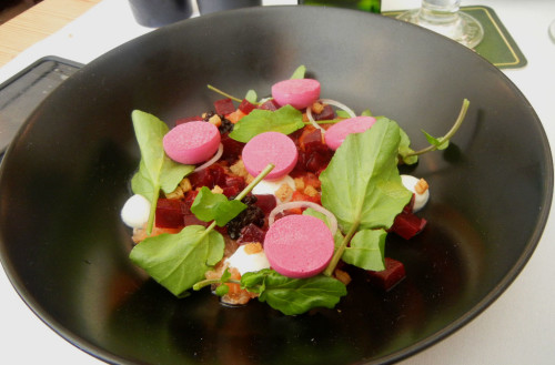 Tartar Of Salmon With Varieties Of Beetroot